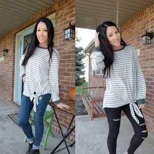 Tops - Soft striped top